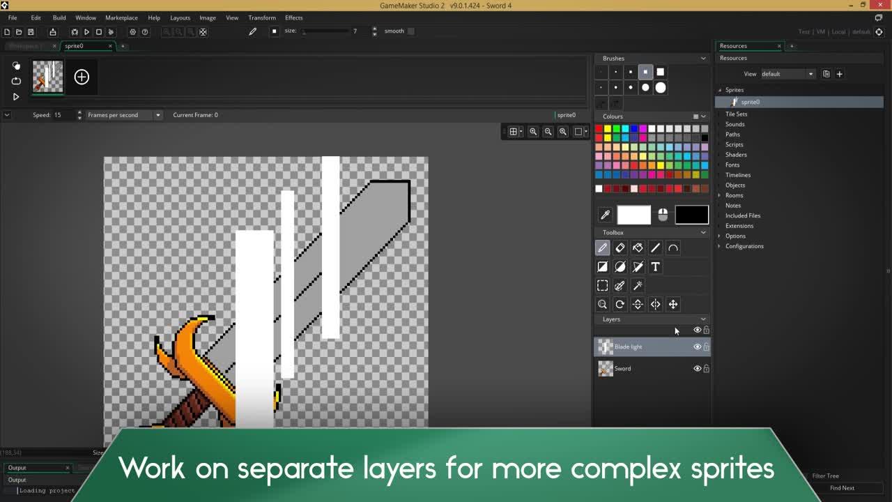 GameMaker Studio 2 - Image Editor video - Indie DB