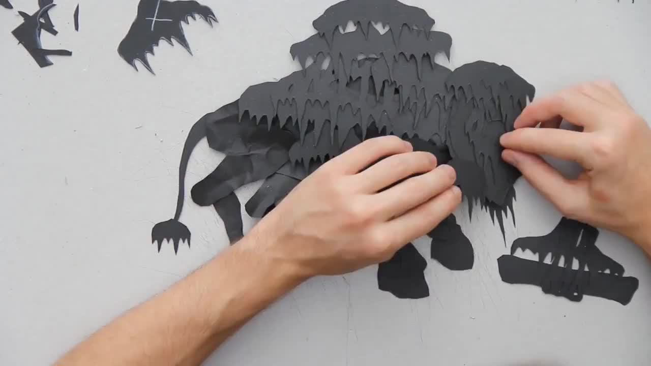 Paper Dragon Claw Tutorial: Enter The Dragon! | 720x1280