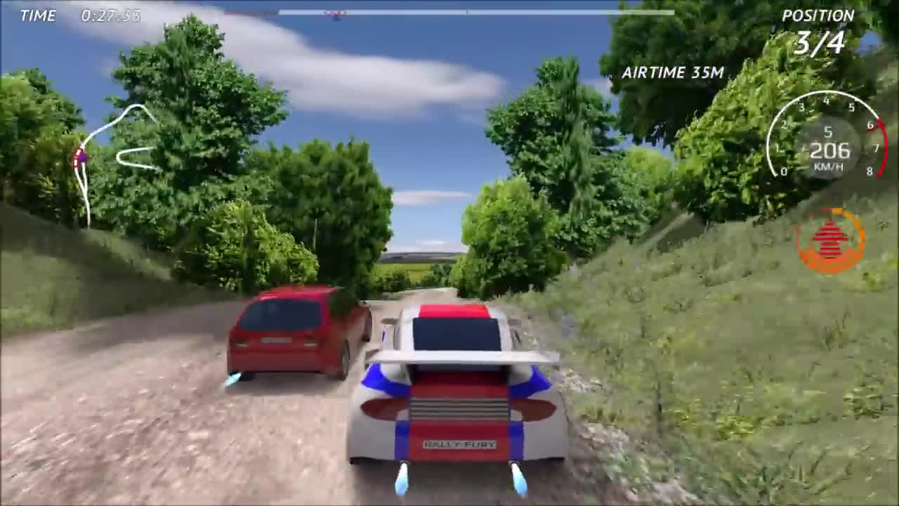 Rally Fury - Extreme Racing - Gameplay Trailer video - Mod DB