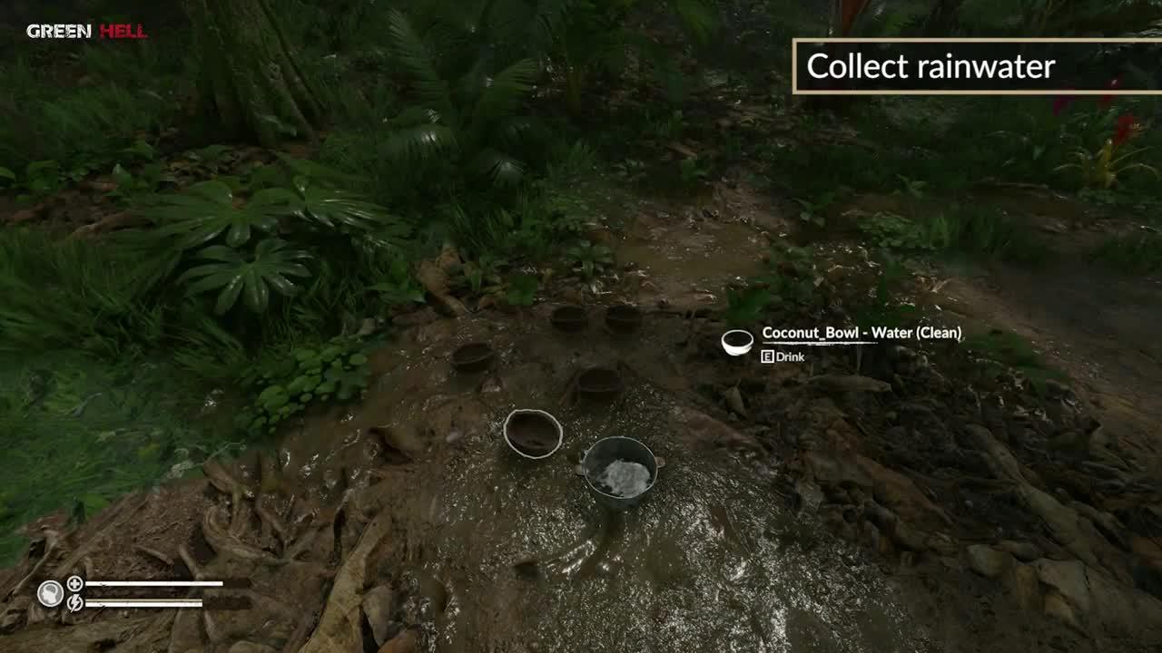 Green Hell - Survival Guide - Water Mechanics video - Mod DB