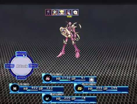 Browser Games 2020.Digimon Story Project 2020 Battle Boss Test