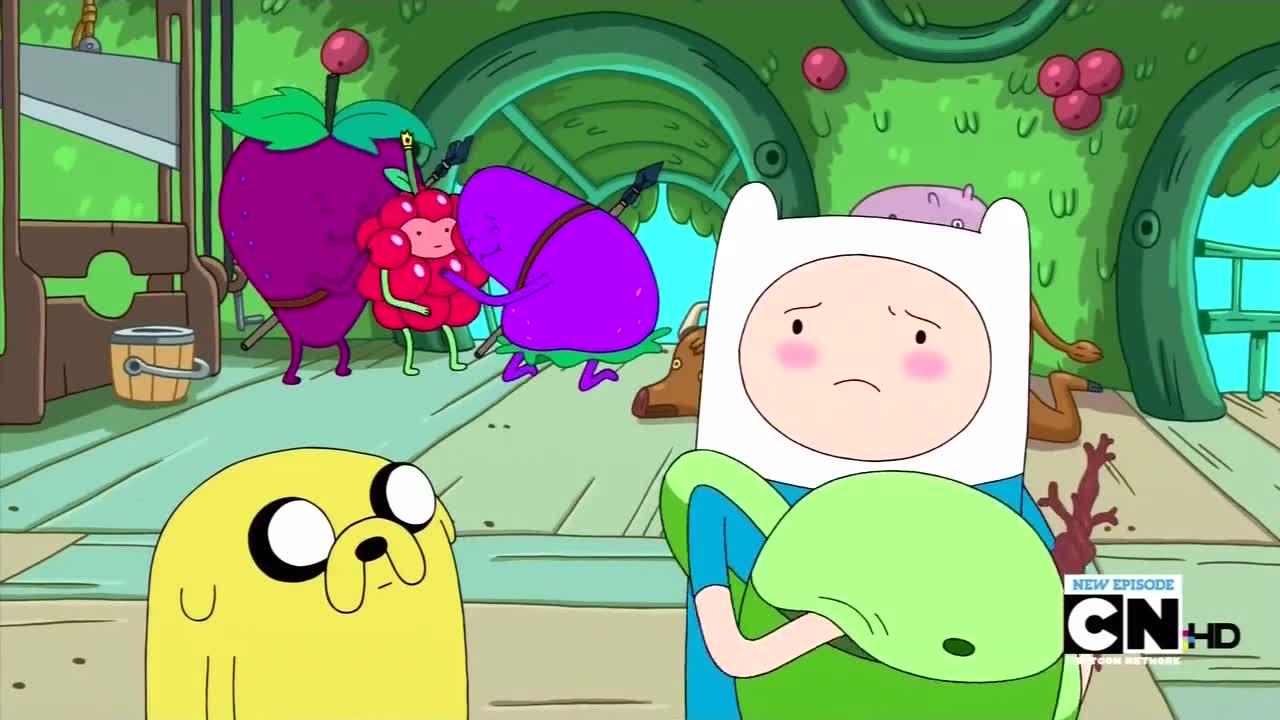 Adventure Time - Jake Vs  Me-Mow