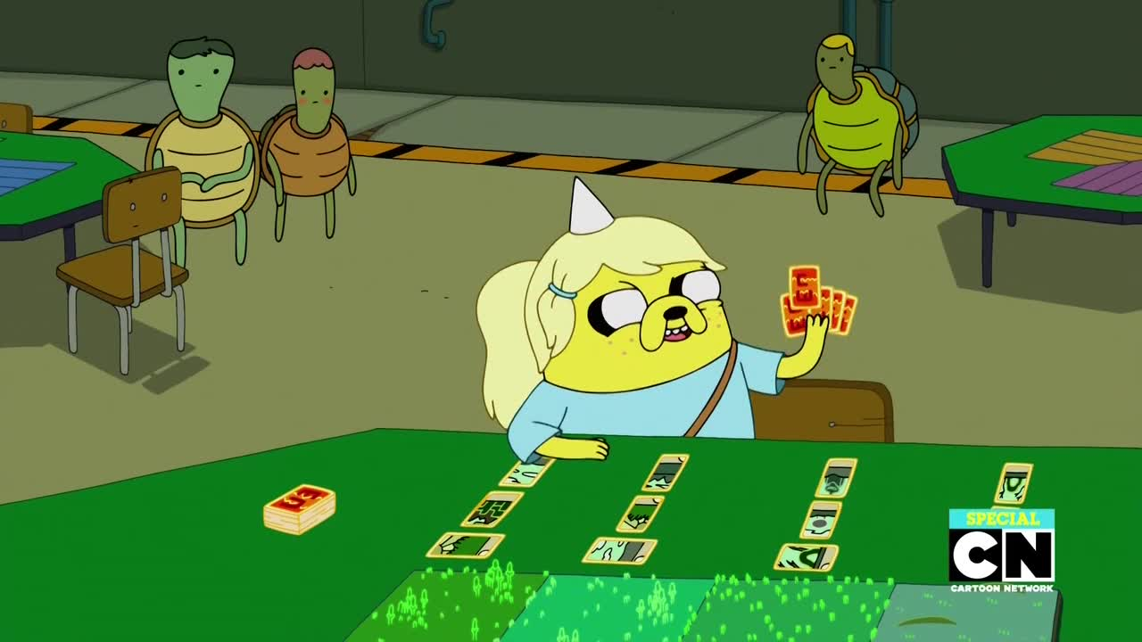 Adventure Time - Daddy-Daughter Card Wars