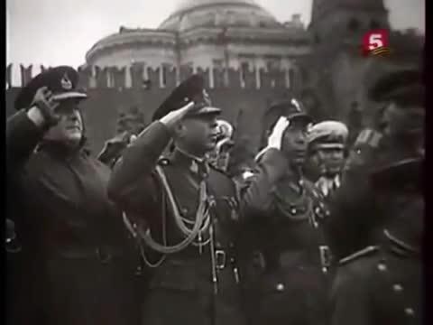 Soviet National Anthem  Red Square (1945)