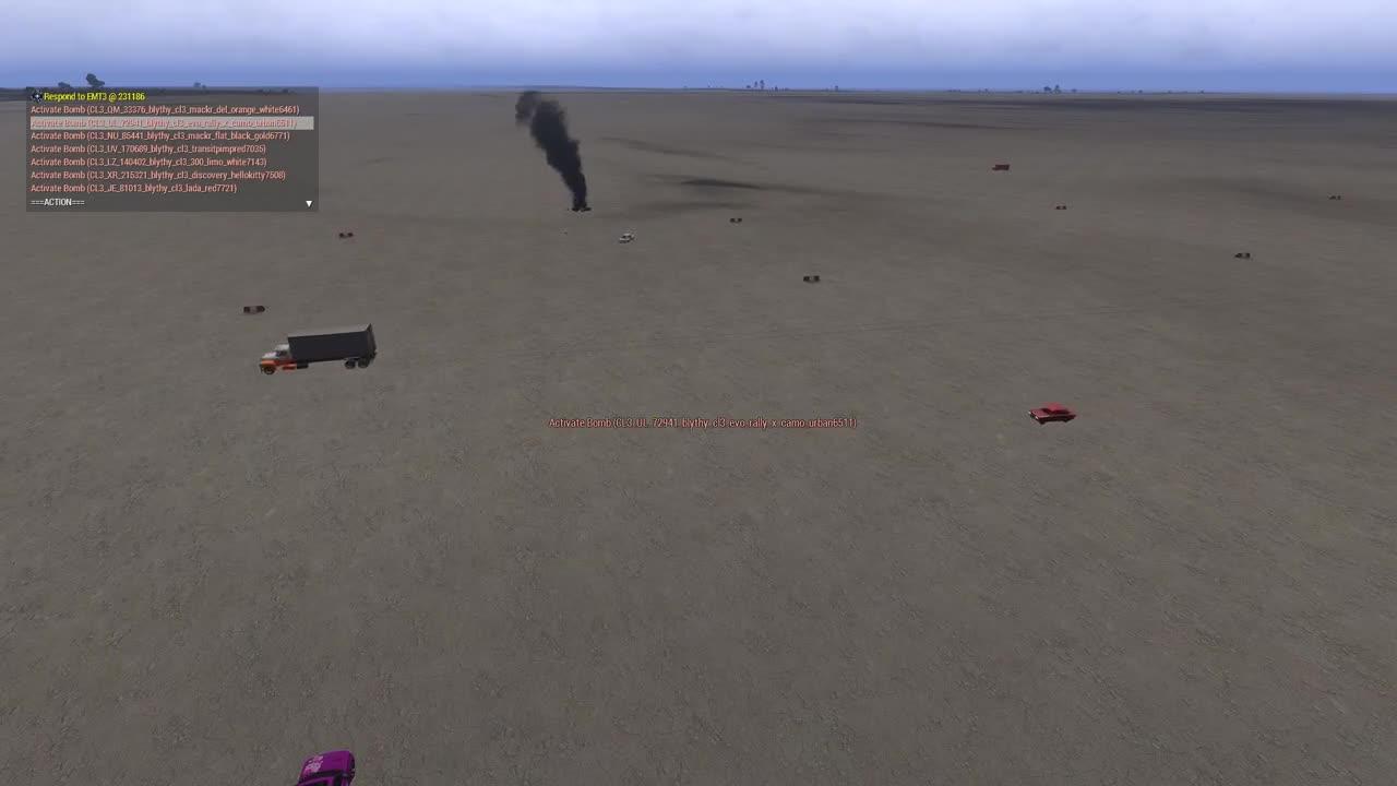 Car bomb roulett
