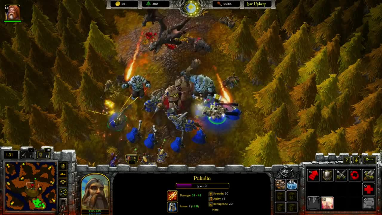 Gameplay Human Vs Orc Video Warcraft Armies Of Azeroth Mod For