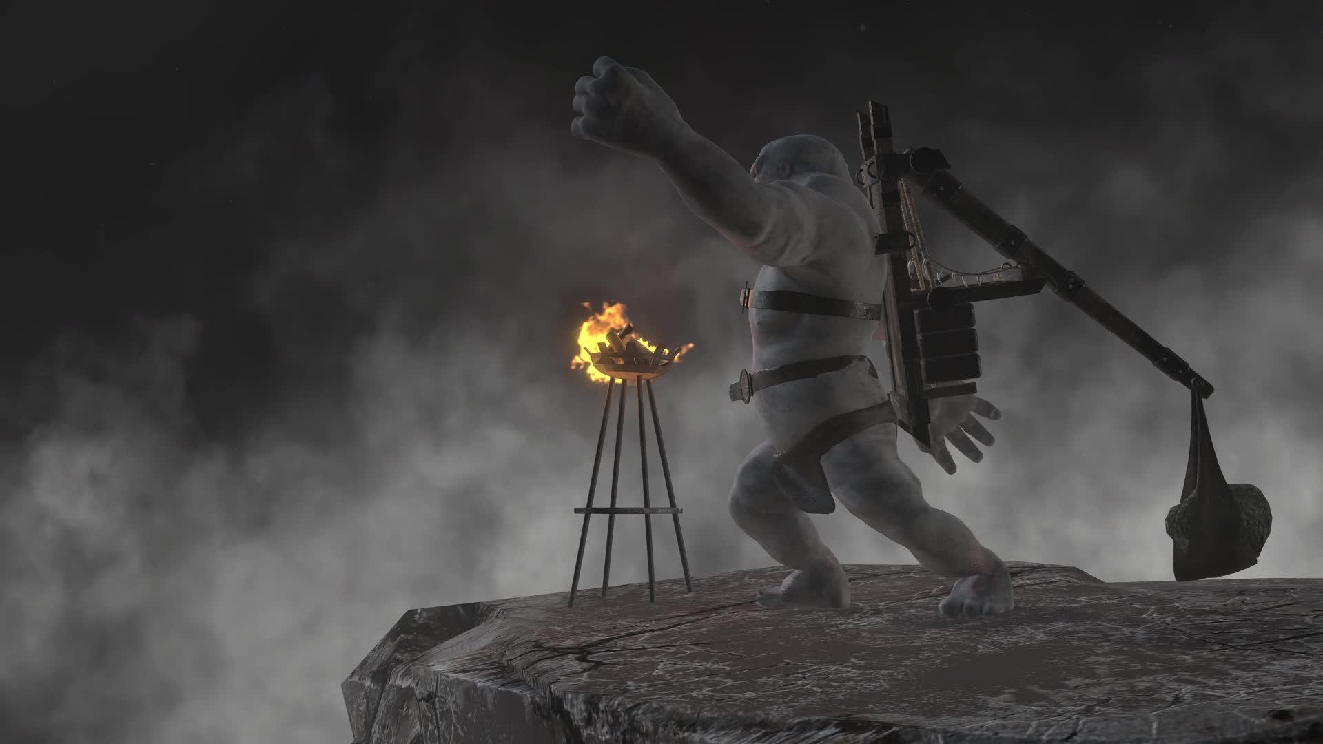Guldur War Troll Animations Demo Video Chronicles Of Middle