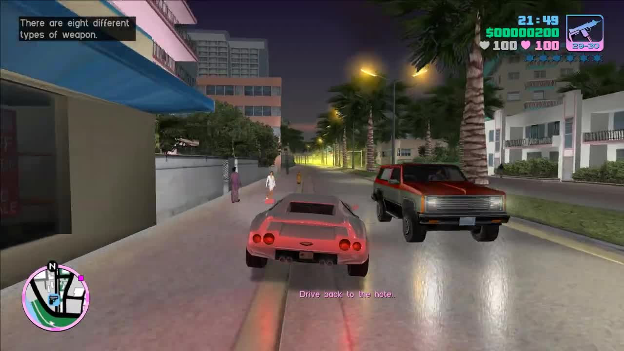 Official Gameplay from author (From Official YouTube Channel) video - Grand  Theft Auto: Vice City 10 Year Anniversary PC Edition mod for Grand Theft  Auto: Vice City - Mod DB
