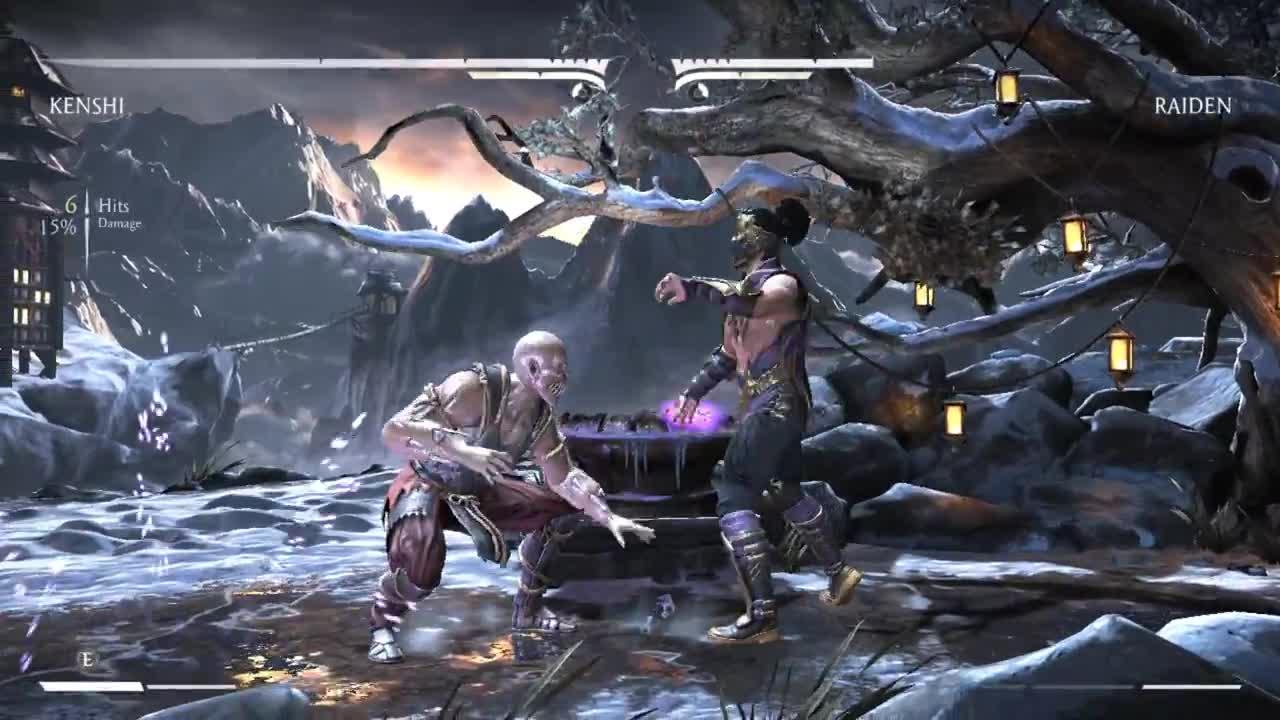 Baraka vs Rain - Mortal Kombat XL (PC)